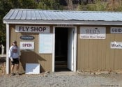 Reds Fly Shop - Yakima Canyon Original Building - 2008