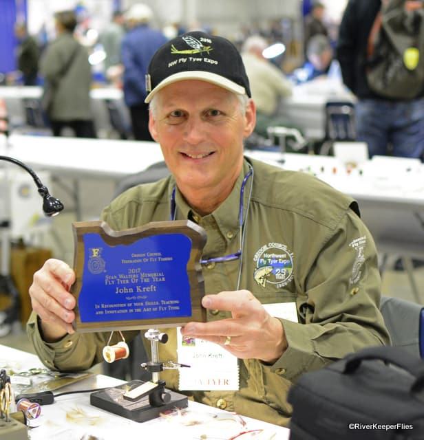 2017 Stan Walter Memorial Fly Tyer of the Year | www.johnkreft.com