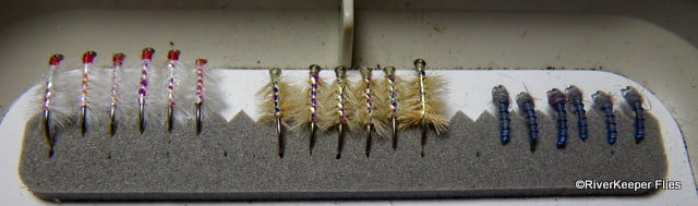 Crooked River Flies - Row 1 | www.johnkreft.com