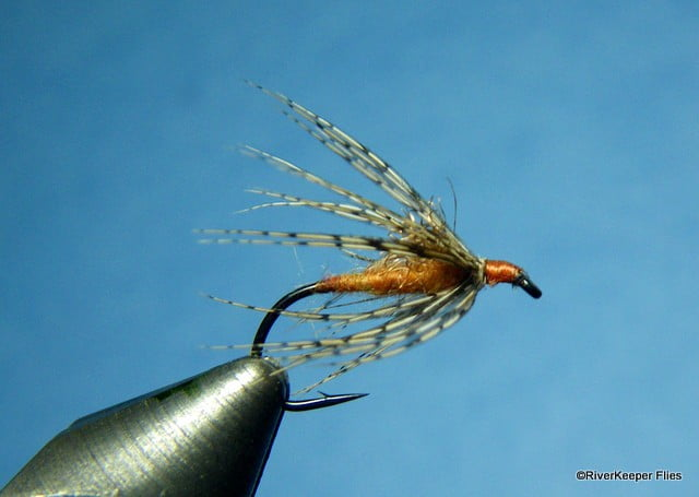 RiverKeeper Soft Hackle Cripple - March Brown | www.johnkreft.com