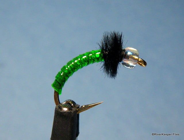 Steelhead Green Rock Worm | www.johnkreft.com