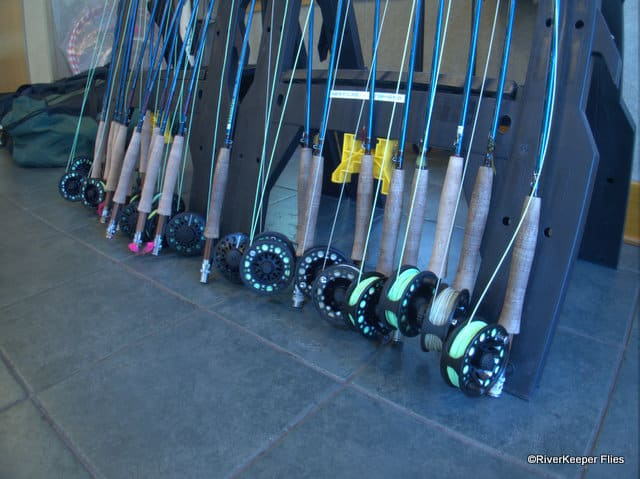 Redington Rods Lined Up | www.johnkreft.com