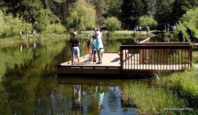 Shevlin Pond Fishing   www.johnkreft.com