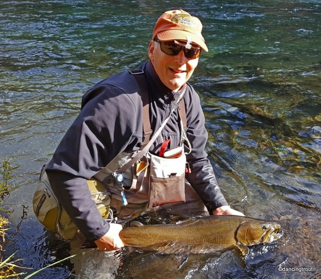 Holding Metolius River Bull Trout | www.johnkreft.com