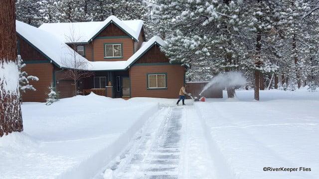Snow Blowing | www.johnkreft.com