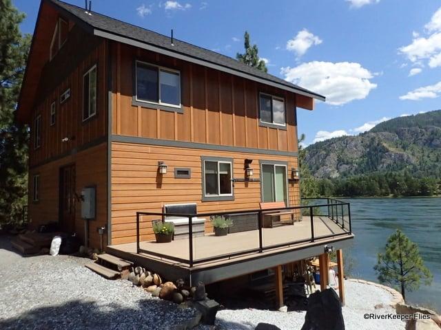 Black Bear Lodge from Shore | www.johnkreft.com