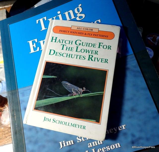 Deschutes River Hatch Guide - Schollmeyer | www.johnkreft.com