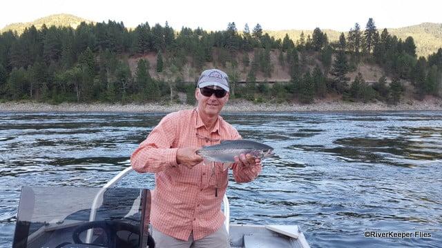 Holding Upper Columbia River Rainbow | www.johnkreft.com