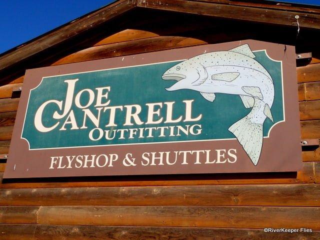 Joe Cantrell Outfitting Sign | www.johnkreft.com