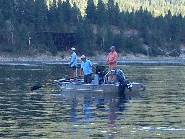 John and Karen on Upper Columbia River | www.johnkreft.com
