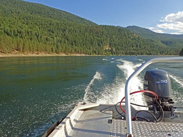 Upper Columbia River from Boat | www.johnkreft.com