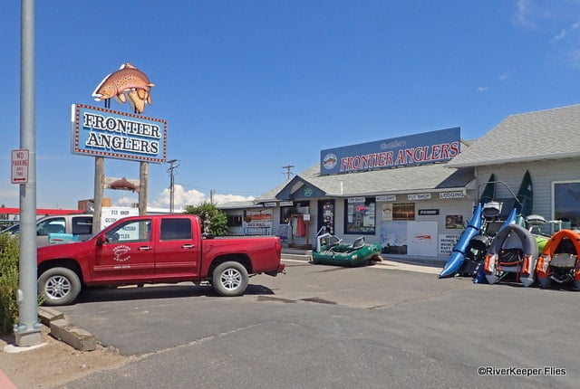 Frontier Anglers Fly Shop in Dillon, MT | www.johnkreft.com