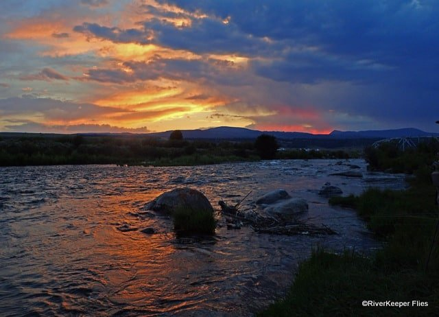 Madison River Sunset over Water | www.johnkreft.com