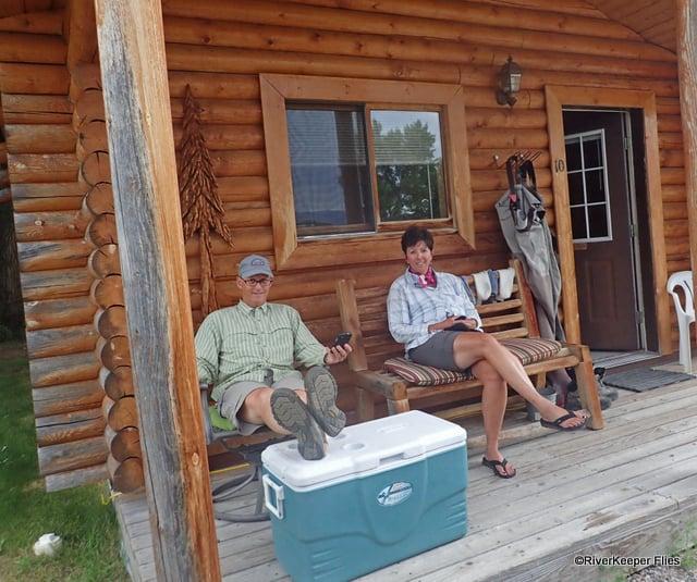 Sportsman Motel Twins Cabin in Melrose, MT | www.johnkreft.com
