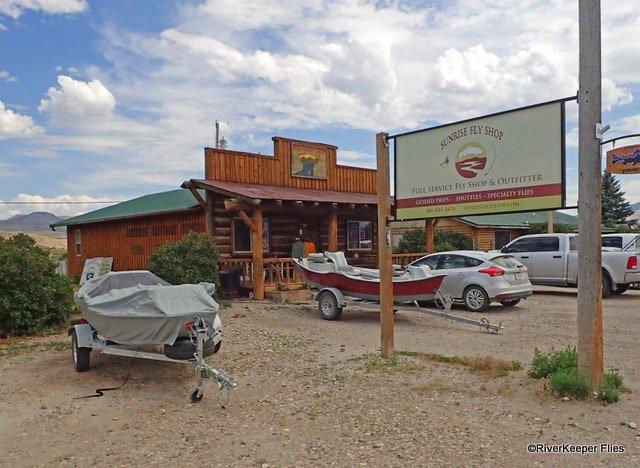 Sunrise Fly Shop in Melrose, MT | www.johnkreft.com