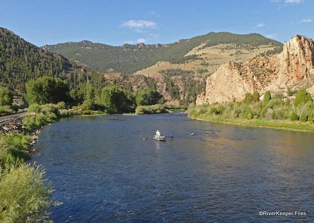 Water below Maiden Rock Bridge on Big Hole River, MT | www.johnkreft.com