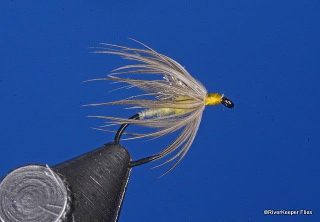 Half Dozen 6 #18 Olive Elk Hair Caddis Dry Flies Fly Dries
