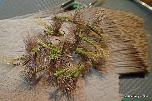 Green Drake Sparkle Dun on Deer Hair | www.johnkreft.com