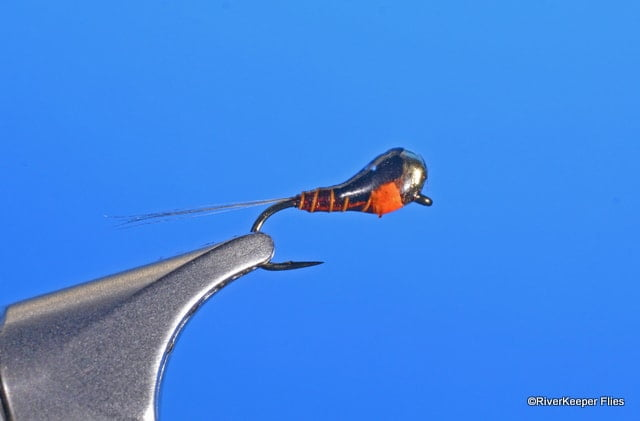 Pheasant Tail Perdigon with Jig Head Tungsten Bead | www.johnkreft.com
