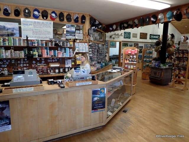 Inside of Yellowstone Angler Fly Shop - Livingston, MT