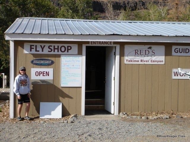Reds Fly Shop - Yakima Canyon Original Building - 2008