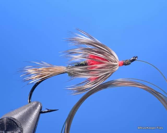 Alec Jackson Fancy Spade - Red