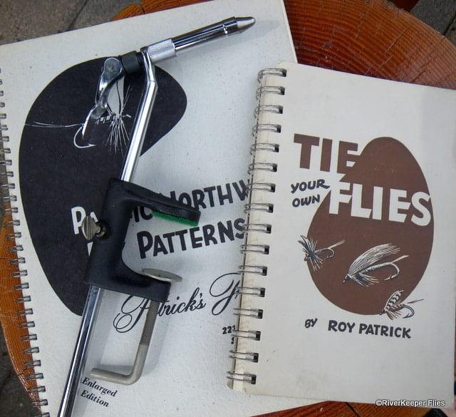 Old Fly Tying Books & Thompson A Vise | www.johnkreft.com