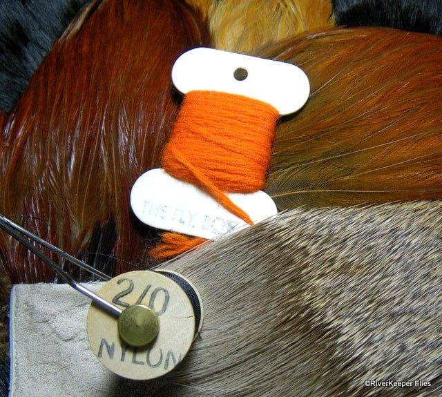 Tied Down Caddis Materials | www.johnkreft.com
