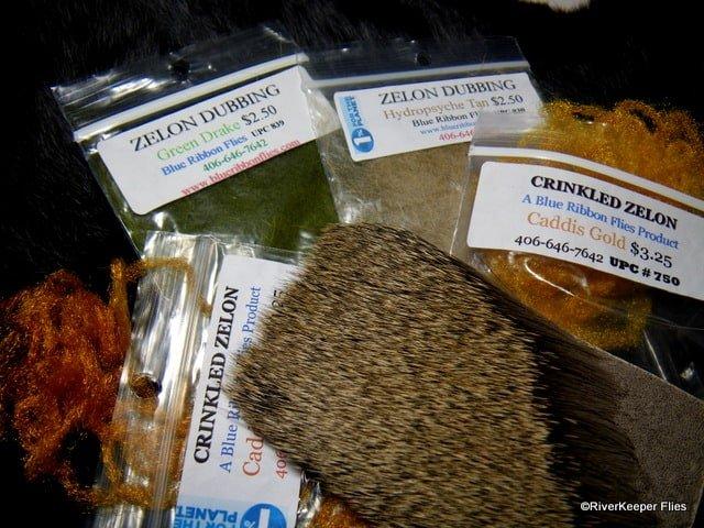 X Caddis Materials   www.johnkreft.com