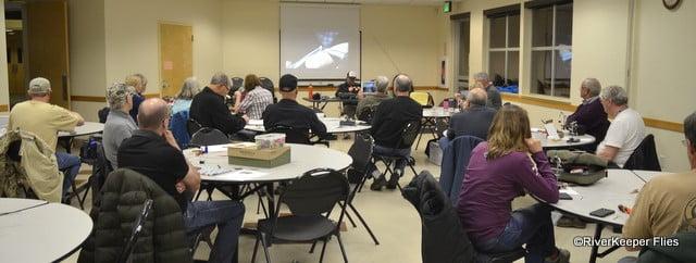 COF Winter Fly Tying   www.johnkreft.com