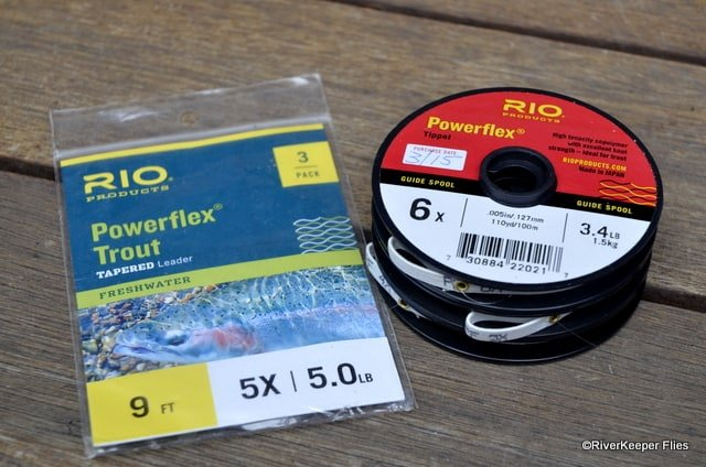 Rio Leader & Tippet | www.johnkreft.com