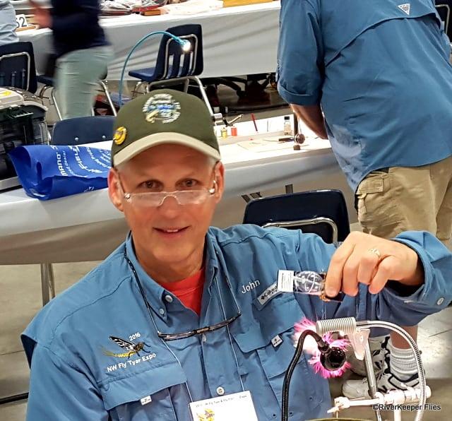 John Kreft at the Tying Vise | www.johnkreft.com