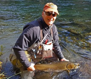 Metolius River Bull Trout, Bamboo and Christmas