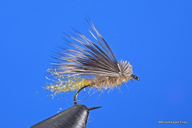 2-Emerger Sparkle Caddis  Pupa Olive #12
