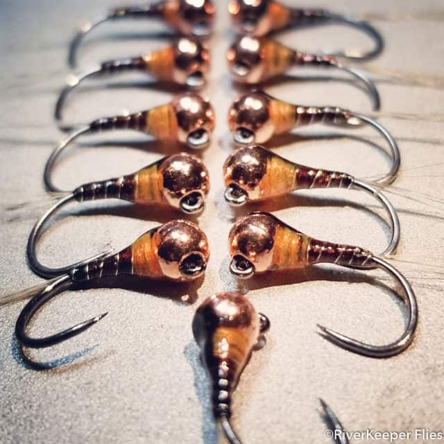 Pheasant Tail Perdigon Nymphs | www.johnkreft.com