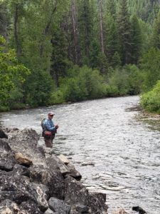 Fly Fishing the Bitterroot River