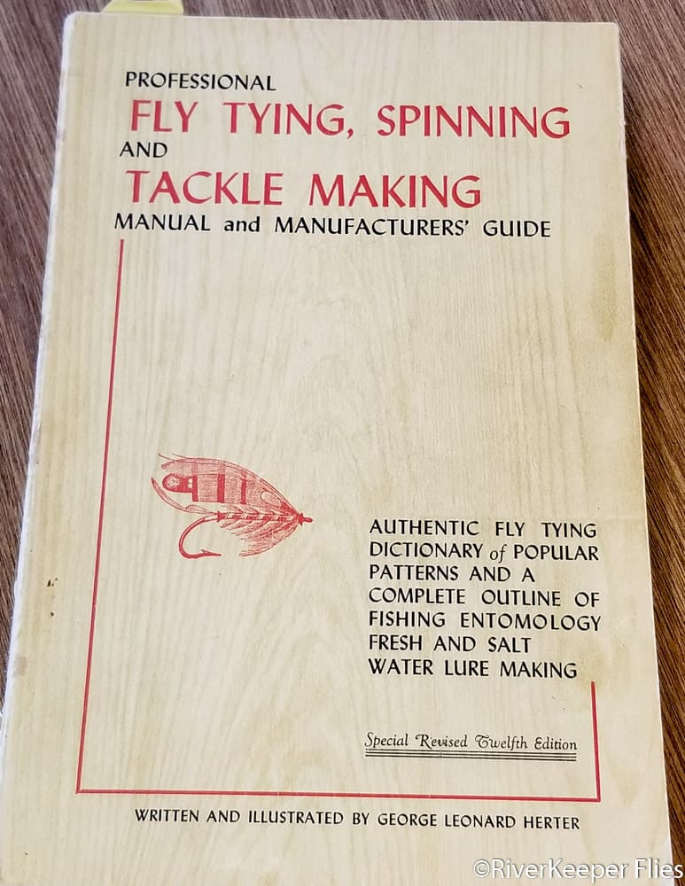 Herter's Fly Tying Spinning Tackle Making Manual - Revised 12th Edition | www.johnkreft.com