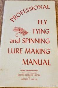 Herter's Fly Tying Manuals