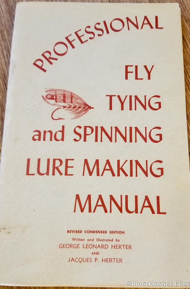 Herter's Fly Tying and Spinning Lure Making Manual - 19th Edition | www.johnkreft.com