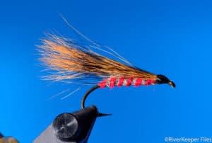 Vint Johnson's Red Squirrel Tail Streamer