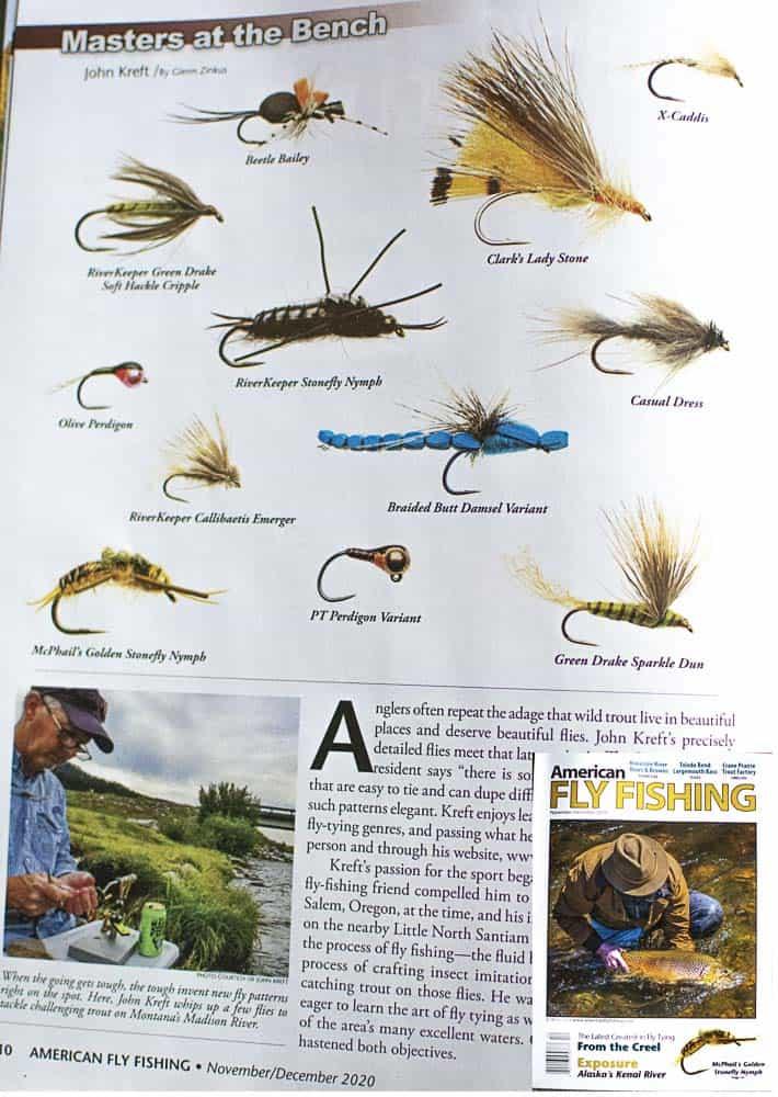 American Fly Fishing Magazine | www.johnkreft.com