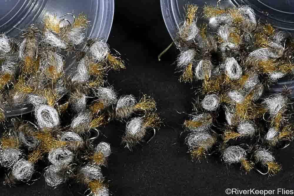 6 Dozen Iris Caddis   www.johnkreft.com