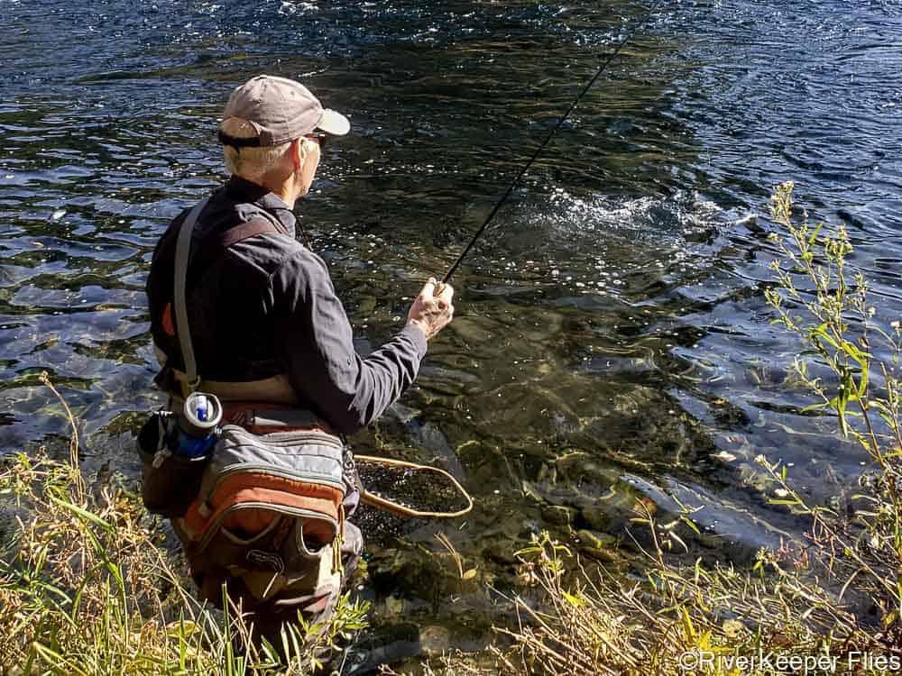 Hip Pack on River   www.johnkreft.com